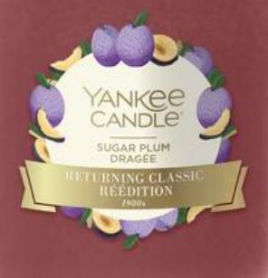 Sugar Plum USA Yankee Candle Wax Crumble Pot