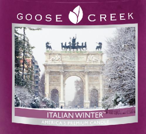 Italian Winter Goose Creek Wax Crumble Pot 22g