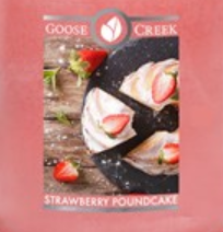 Strawberry Pound Cake USA Goose Creek Wax Crumble Pot 22g