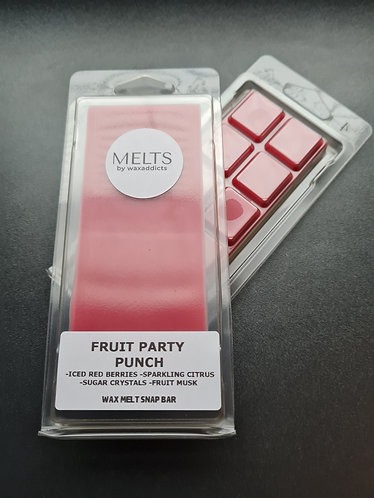 Fruit Party Punch Wax Melt Snap Bar by Wax Addicts