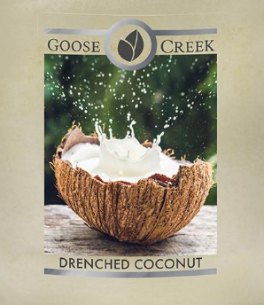 Drenched Coconut Goose Creek Wax Crumble Pot 22g