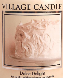 Dolce Delight USA Village Candle Wax Crumble Pot