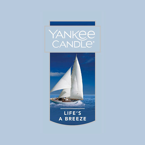 Life's A Breeze USA Yankee Candle Wax Crumble Pot 22g