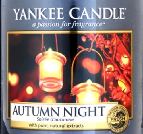 Autumn Night Yankee Candle Wax Crumble Pot