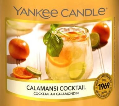 Calamansi Cocktail Yankee Candle Wax Crumble Pot