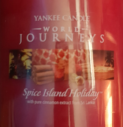 Spice Island Holiday USA Yankee Candle Wax Crumble Pot 22g