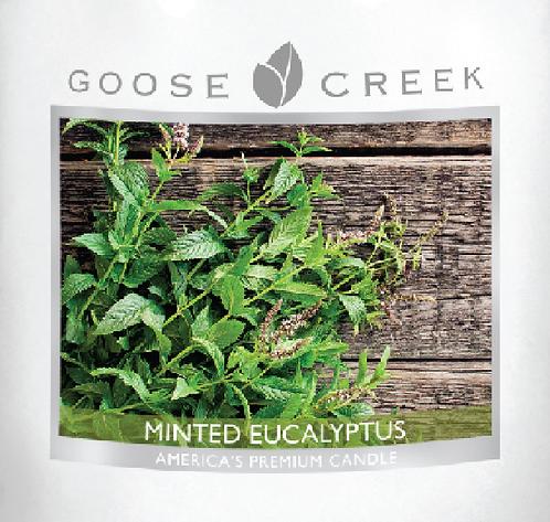 Minted Eucalyptus Goose Creek Wax Crumble Pot 22g