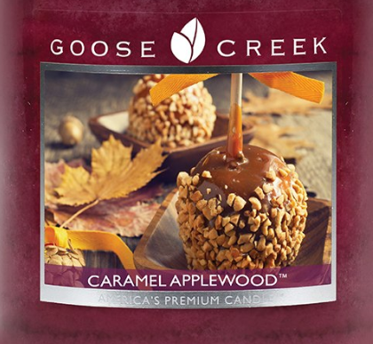 Caramel Applewood Goose Creek Wax Crumble Pot 22g