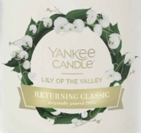 Lily of the Valley Yankee Candle Wax Crumble Pot