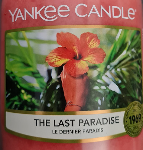 The Last Paradise 2021 Yankee Candle Wax Crumble Pot