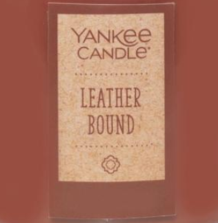 Leather Bound USA Yankee Candle Soy Wax Crumble Pot 22g
