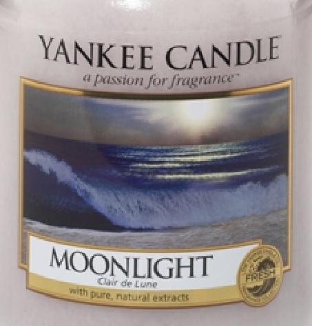 Moonlight Yankee Candle Wax Crumble Pot 22g