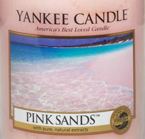 Pink Sands Yankee Candle Wax Crumble Pot