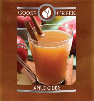 Apple Cider Goose Creek Wax Crumble Pot 22g