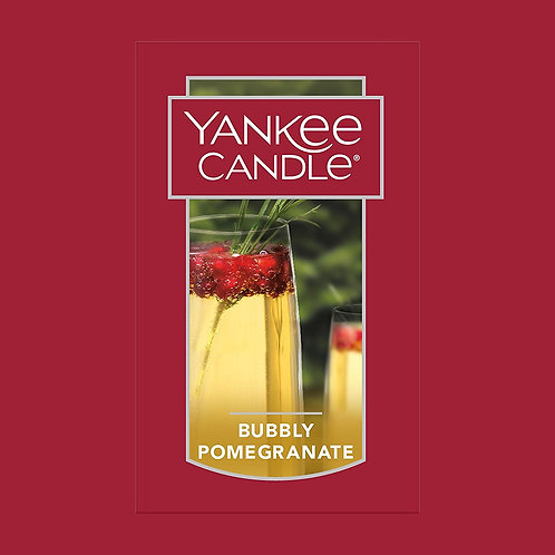Bubbly Pomegranate USA Yankee Candle Wax Crumble Pot 22g
