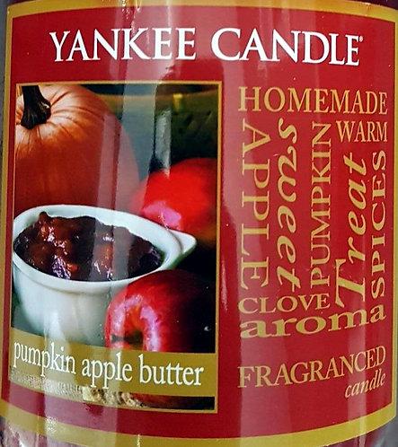 Pumpkin Apple Butter USA Yankee Candle Wax Crumble Pot 22g