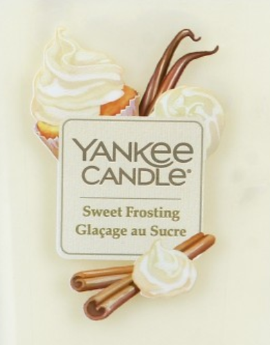Sweet Frosting Elevation Yankee Candle Soy Wax Crumble Pot 22g