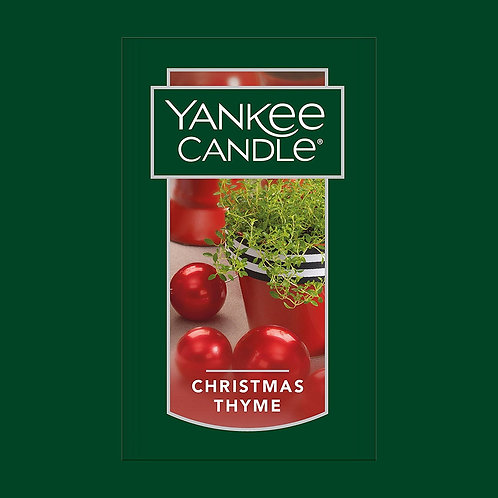 Christmas Thyme USA Yankee Candle Wax Crumble Pot 22g