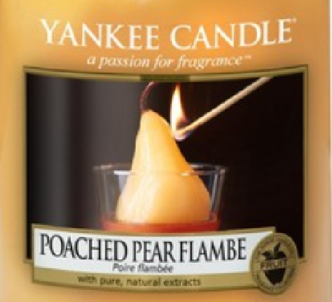 Poached Pear Flambe Yankee Candle Wax Crumble Pot