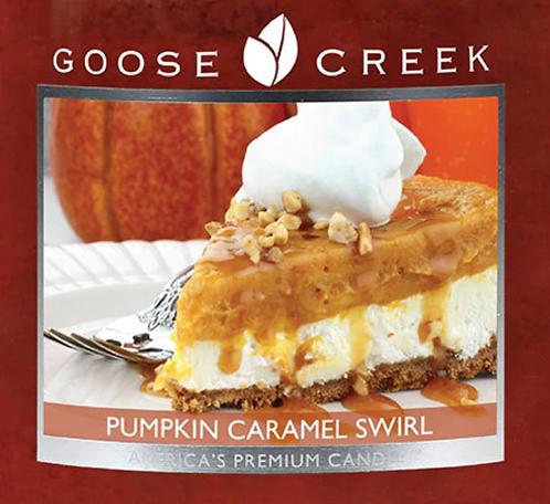 Pumpkin Caramel Swirl USA Goose Creek Wax Crumble Pot 22g