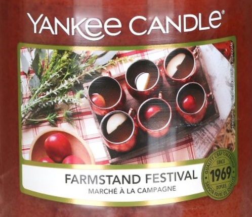 Farmstand Festival USA Yankee Candle Wax Crumble Pot 22g