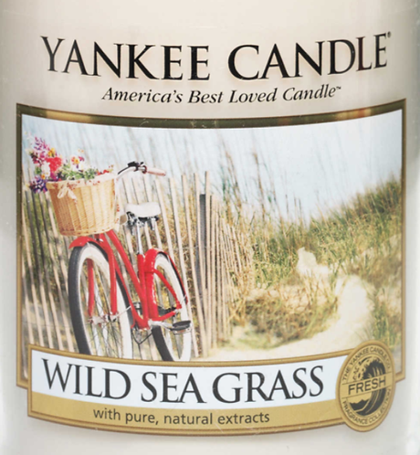 Wild Sea Grass USA Yankee Candle Wax Crumble Pot 22g