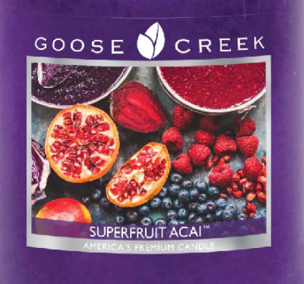 Superfruit Acai Goose Creek Wax Crumble Pot 22g