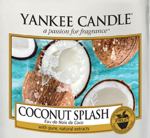 Coconut Splash Yankee Candle Wax Crumble Pot 22g