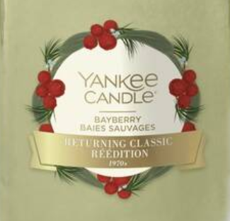 Bayberry Yankee Candle Wax Crumble Pot 22g