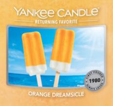 Orange Dreamsicle USA Yankee Candle Wax Crumble Pot