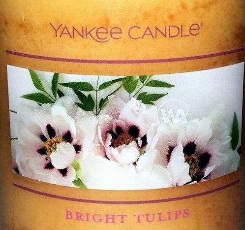Bright Tulips USA Yankee Candle Wax Crumble Pot