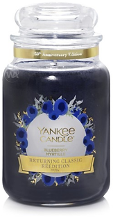 Blueberry  Yankee Candle anniversary edi
