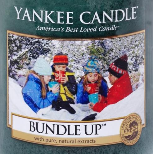 Bundle Up USA Yankee Candle Wax Crumble Pot