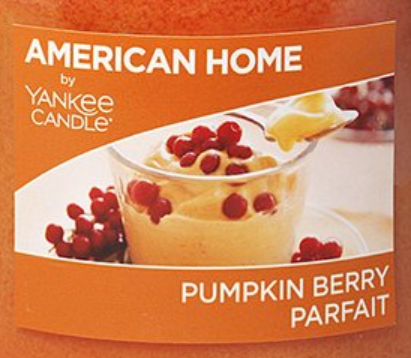 Pumpkin Berry Parfait USA Yankee Candle Wax Crumble Pot