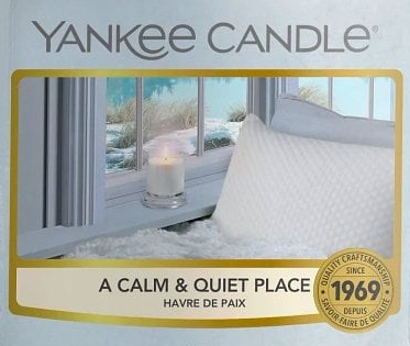 A Calm and Quiet Place Yankee Candle Wax Crumble Pot