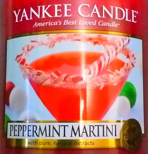 Peppermint Martini (Red) USA Yankee Candle Wax Crumble Pot 22g