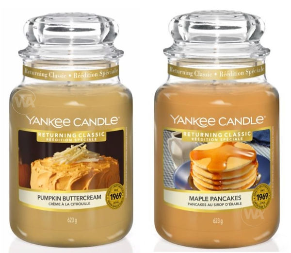 YANKEE CANDLE 2020 AUTUMN RETURNING CLAS