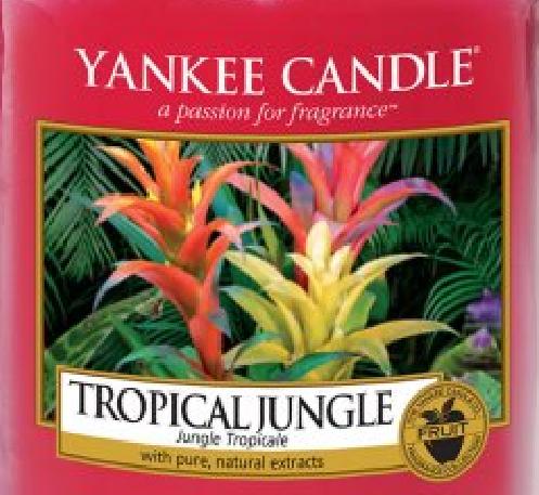 Tropical Jungle Yankee Candle Wax Crumble Pot 22g