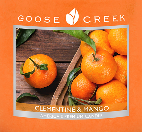 Clementine & Mango Goose Creek Wax Crumble Pot 22g