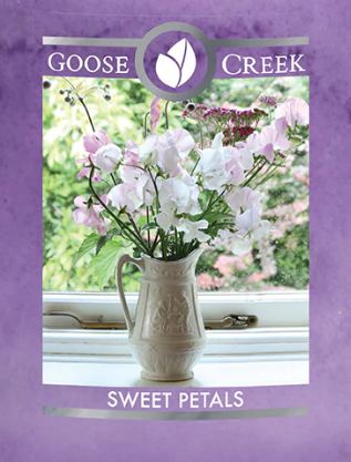 Sweet Petals Goose Creek Wax Crumble Pot 22g