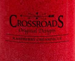 Raspberry Creamsicle USA Crossroads Wax Crumble Pot 22g