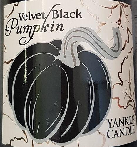 Velvet Black Pumpkin USA Yankee Candle Wax Crumble Pot 22g