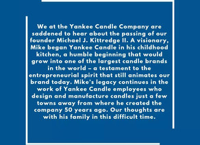 Founder of Yankee Candle Passes Away.