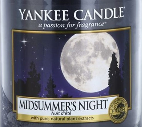 Midsummer's Night Yankee Candle Wax Crumble Pot