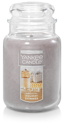 Holiday Shimmer Large Classic Jar Candle