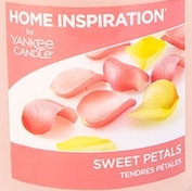 Sweet Petals Yankee Candle Wax Crumble Pot