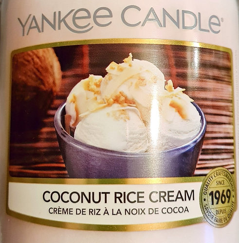 Coconut Rice Cream 2021 Yankee Candle Wax Crumble Pot