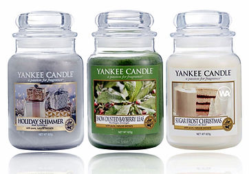 Yankee Candle 2018 USA Festive Specials Include Holiday Shimmer, Snow Dusted Bayberry Leaf and Sugar Frost Christmas