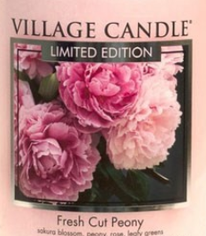 Fresh Cut Peony USA Village Candle Wax Crumble Pot