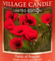 Fields of Poppies USA Village Candle Wax Crumble Pot